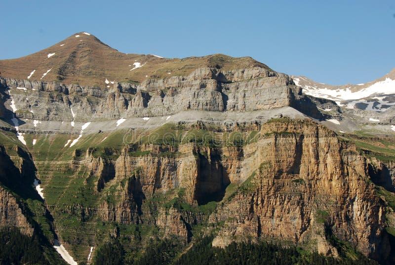 Montanhas em Spain fotografia de stock