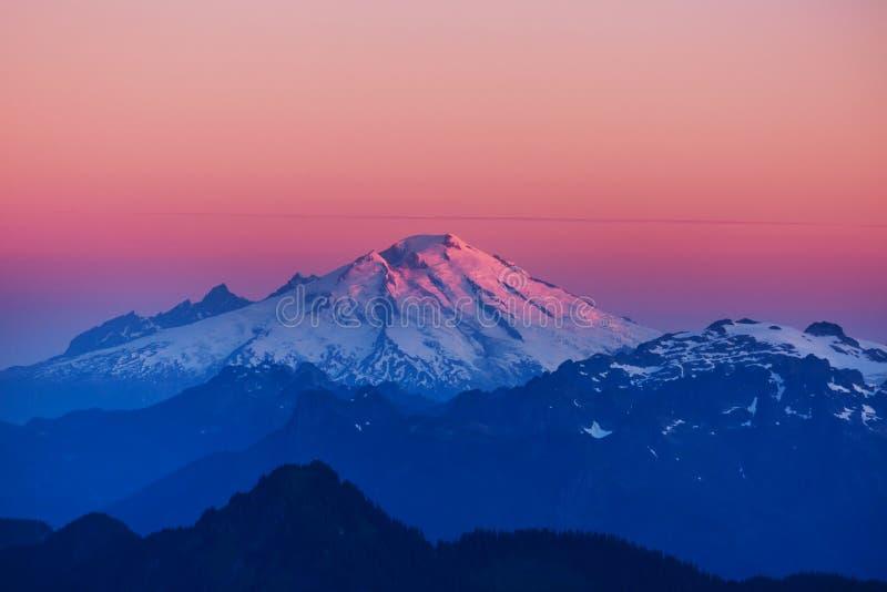 Montanhas em Washington imagens de stock royalty free