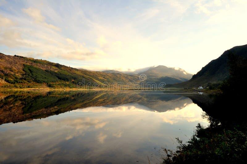 Montanhas Escócia de Torridon fotografia de stock royalty free