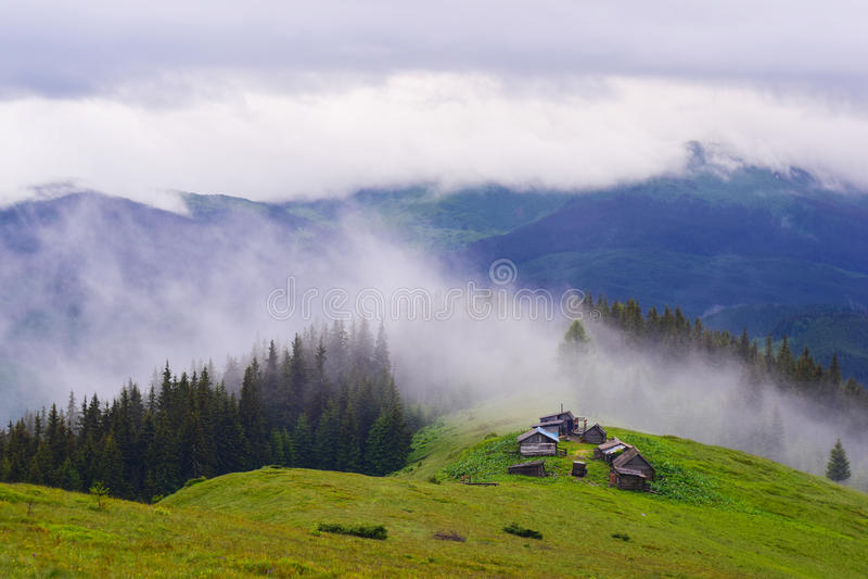 Montanhas mágicas imagem de stock