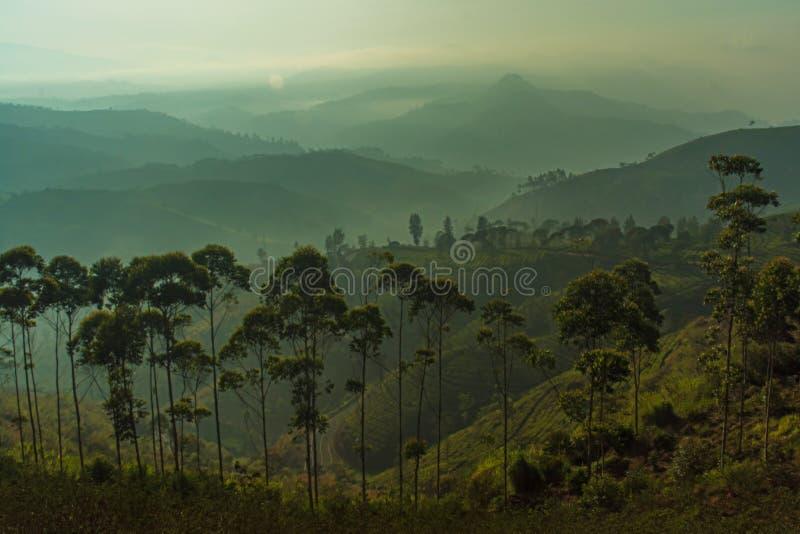 Montanhas mergulhadas fotos de stock royalty free