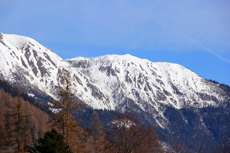 MONTANHAS NEVADO Áustria fotos de stock