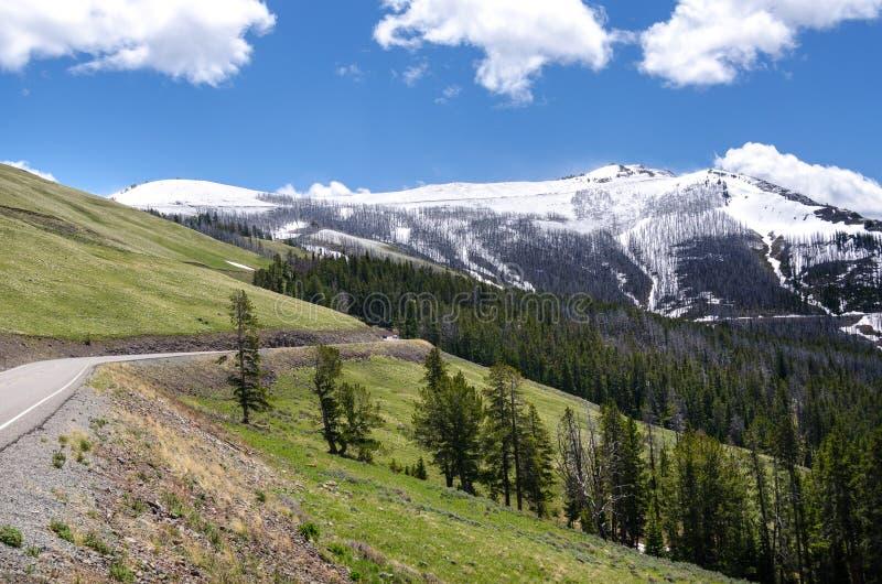 Download Montanhas em Yellowstone foto de stock. Imagem de tourism - 29843970