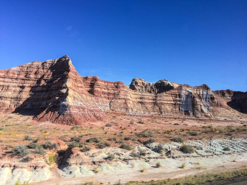Montanhas nortes de Las Vegas foto de stock