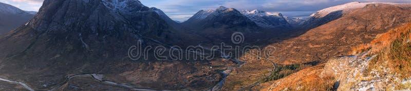 Montanhas ocidentais de scotland fotografia de stock royalty free