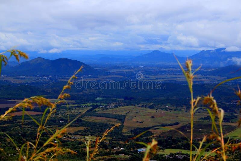 Montanhas orientais de Zimbabwe imagens de stock