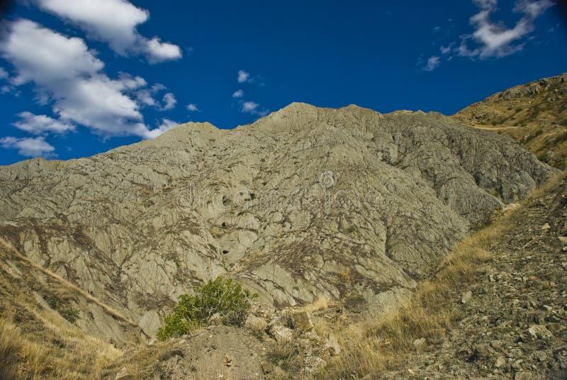 Montanhas para um fundo fotografia de stock