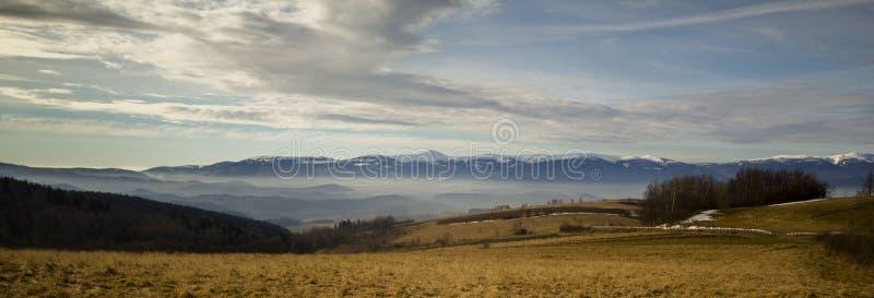 Montanhas polonesas - Sudety fotografia de stock royalty free