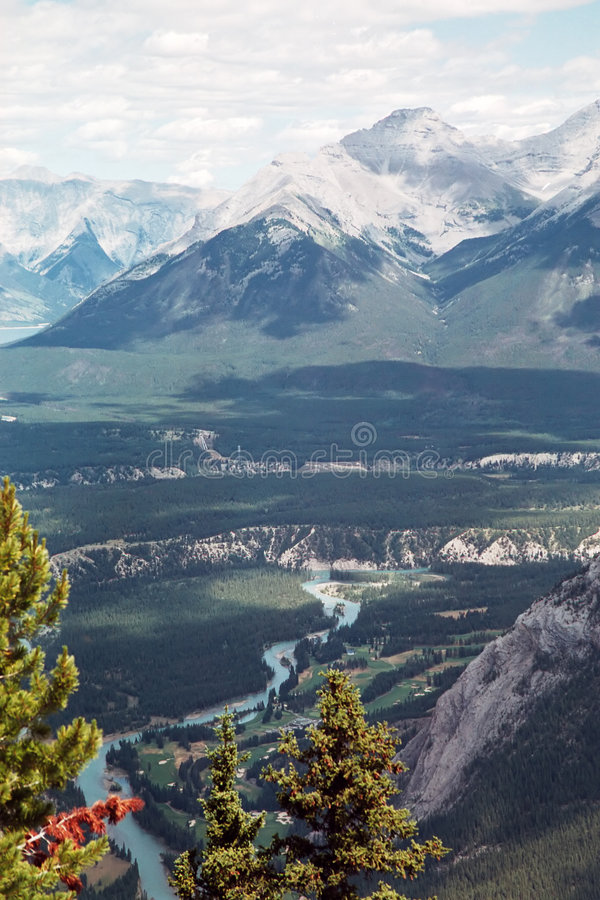 Montanhas Rochosas 1 fotografia de stock royalty free