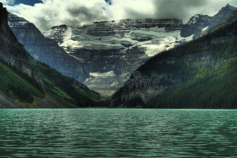 Montanhas rochosas Canadá foto de stock