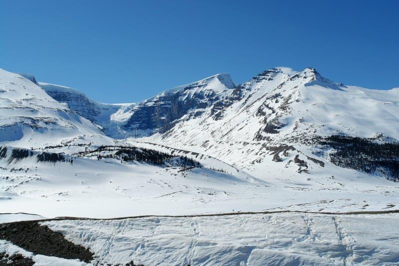 Montanhas Rochosas canadenses imagem de stock