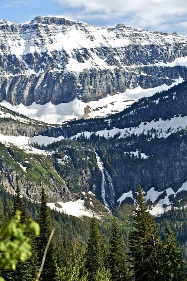 Montanhas rochosas de Montana fotos de stock royalty free
