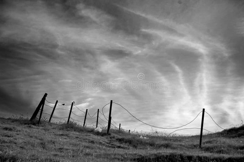 Montanhas romenas foto de stock