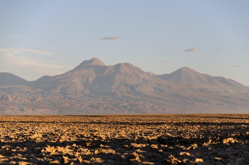 Montanhas San Pedro de Atacama imagem de stock