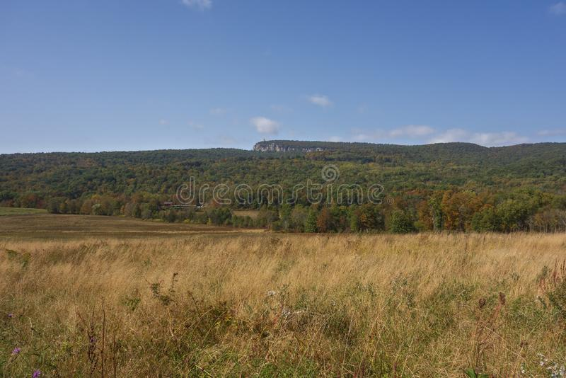 Montanhas Shawangunk Nova York imagens de stock