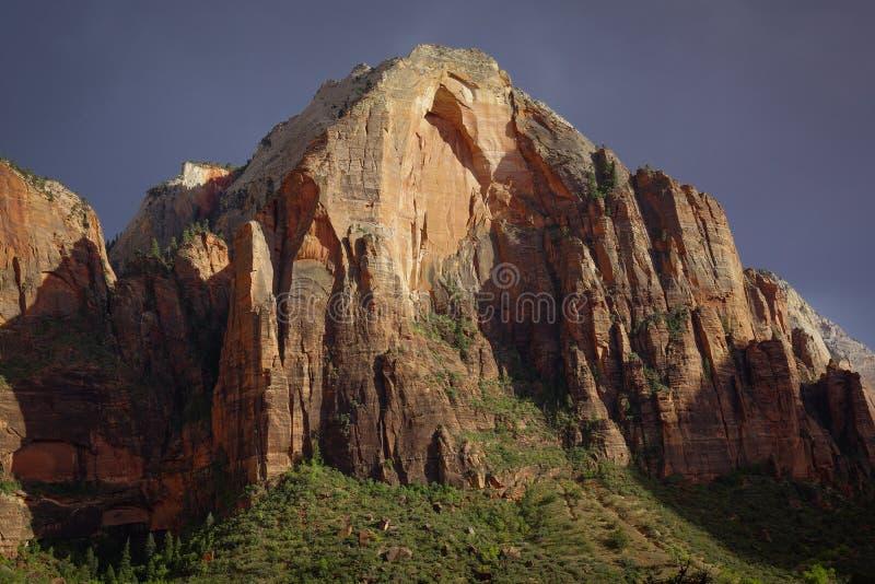 Montanhas Zion de Utá do parque nacional fotos de stock royalty free