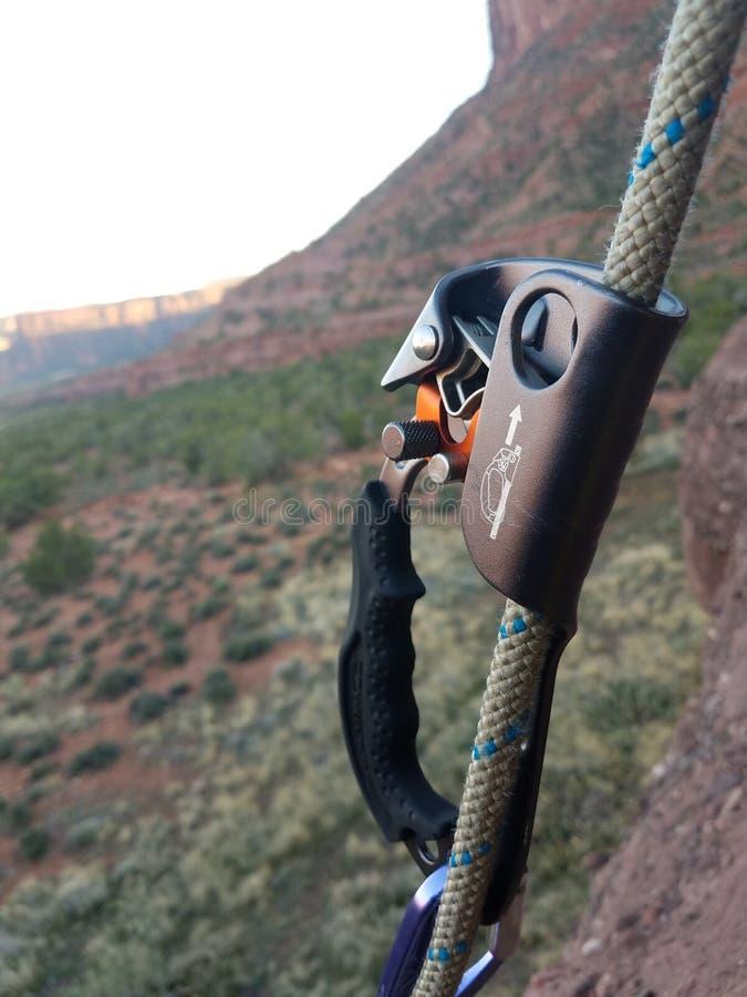 Montant les murs du canyon photo stock