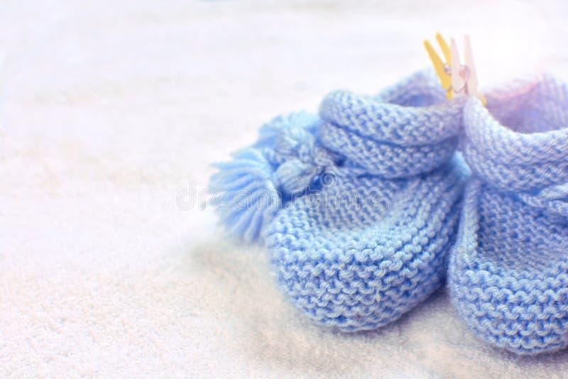 Montantes acrílicos feitos a mão do bebê foto de stock royalty free