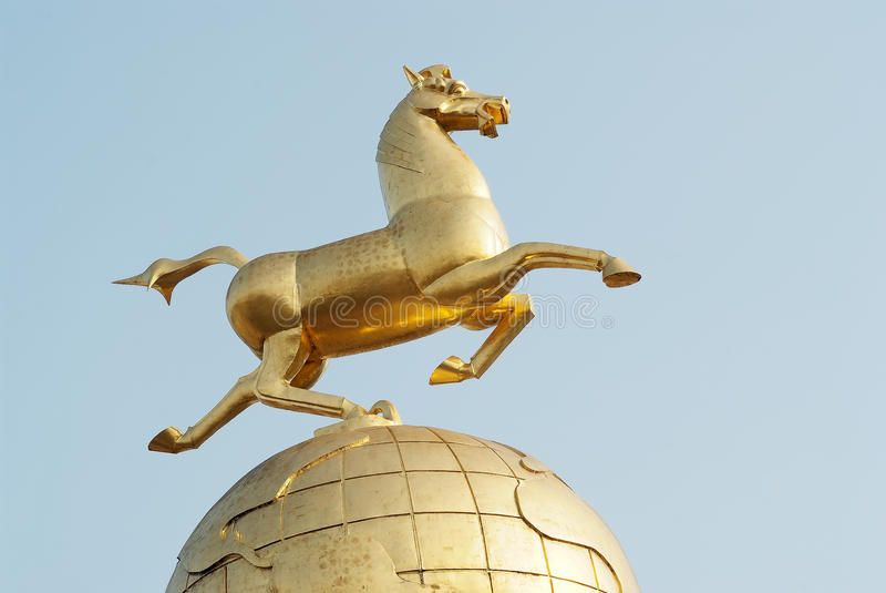 Montar a caballo Chebi imagenes de archivo