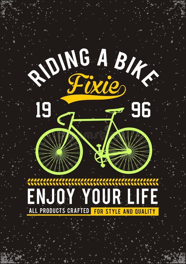 Montar una bici libre illustration