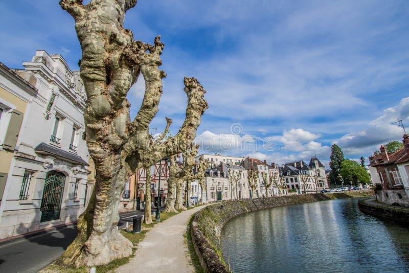 Montargis, Γαλλία στοκ εικόνα