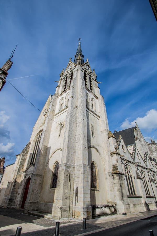 Montargis, Frankrijk stock afbeelding