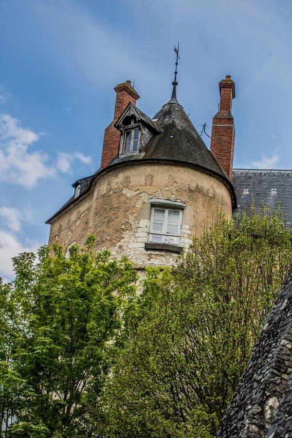 Montargis, Frankrijk stock foto's