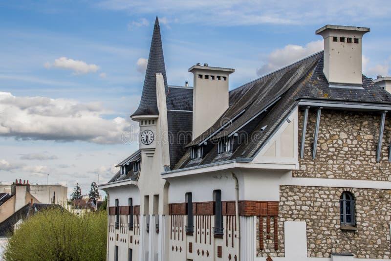 Montargis, Frankrijk royalty-vrije stock foto