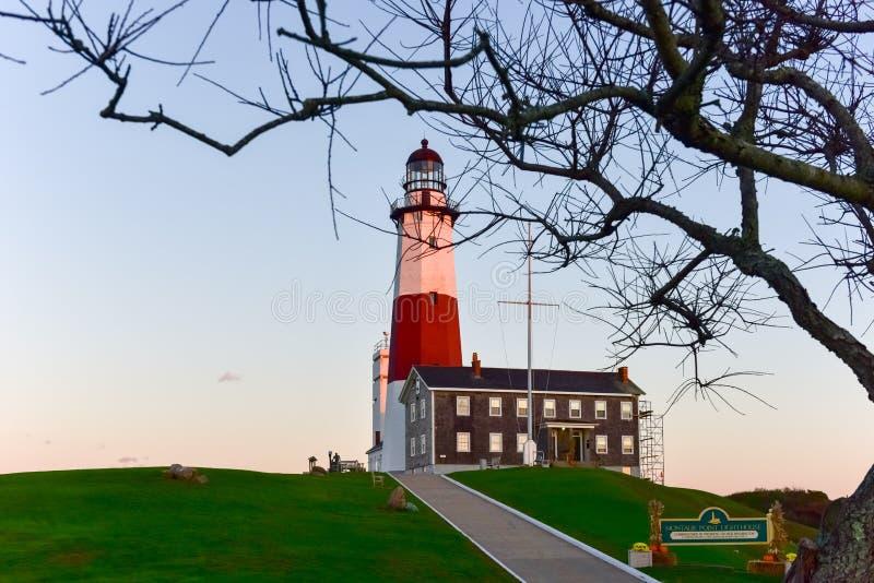 Montauk Point Lighthouse - New York royalty free stock photography