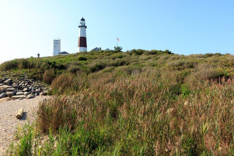 Montauk Punkt-Leuchtturm stockfotografie