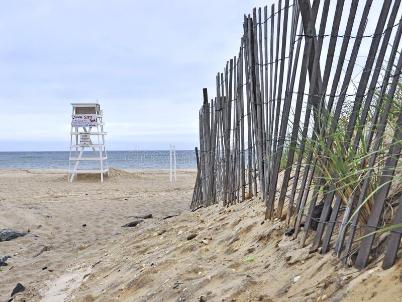 Montauk Skaliste plaże Nowy Jork obraz royalty free