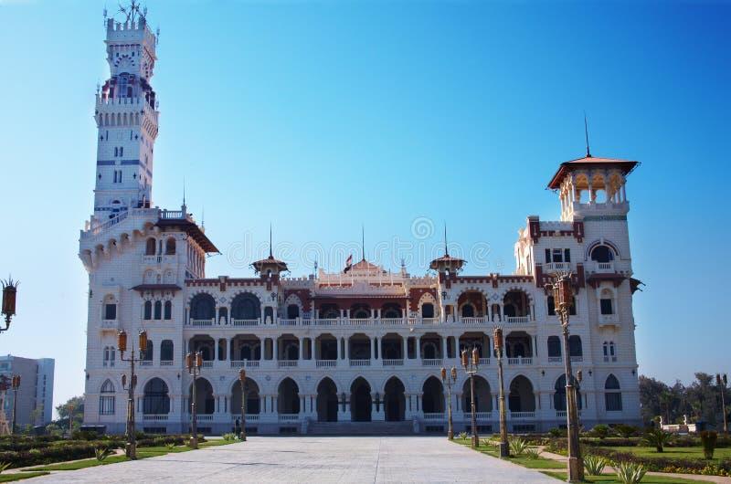 Montaza Palace in Alexandria. royalty free stock photography
