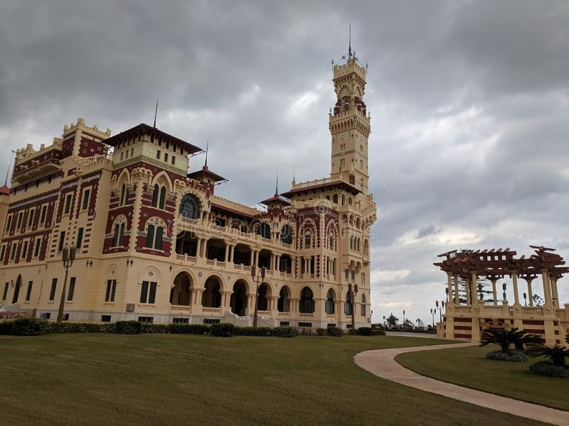 Montazah Palace stock images