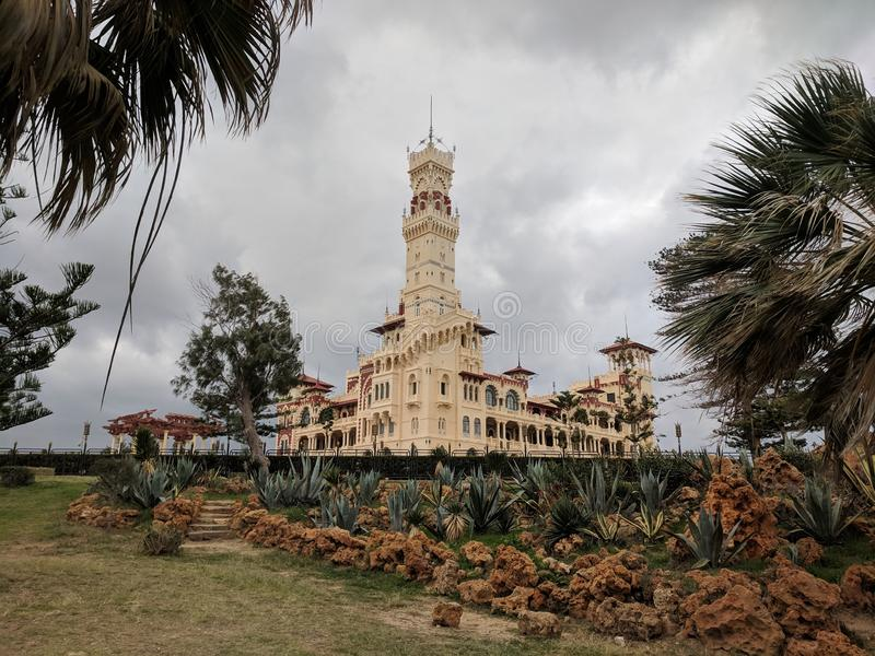 Montazah Palace royalty free stock images