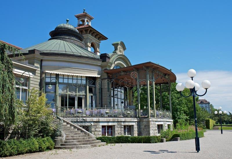 Montbenon, Lausanne royalty-vrije stock afbeelding