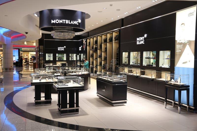 Montblanc sklep obrazy royalty free