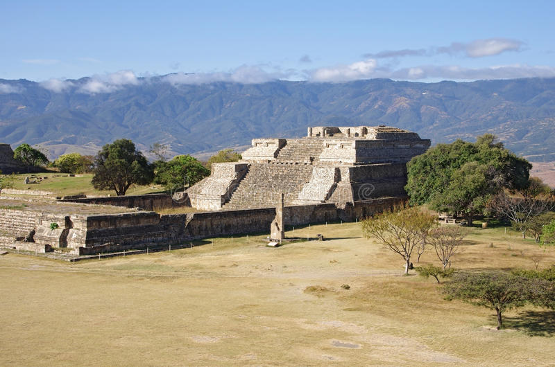 Monte Alban stockfotos