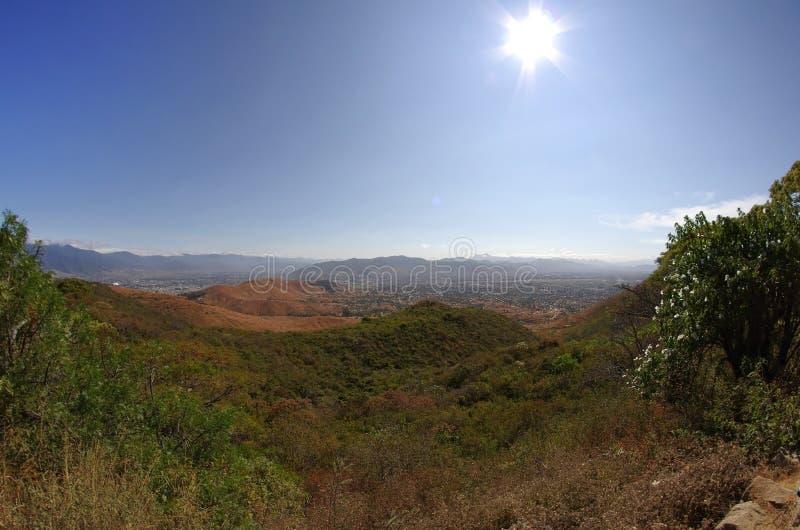 Monte Alban lizenzfreies stockfoto