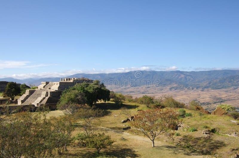 Monte Alban fotos de archivo libres de regalías