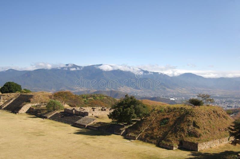 Monte Alban stockbilder