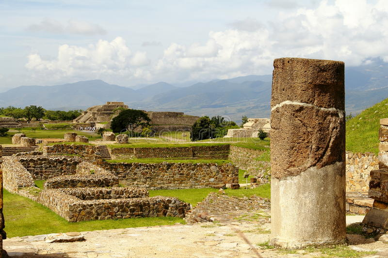 Download Monte Alban I stock image. Image of oaxaca, alban, scenic - 25855605