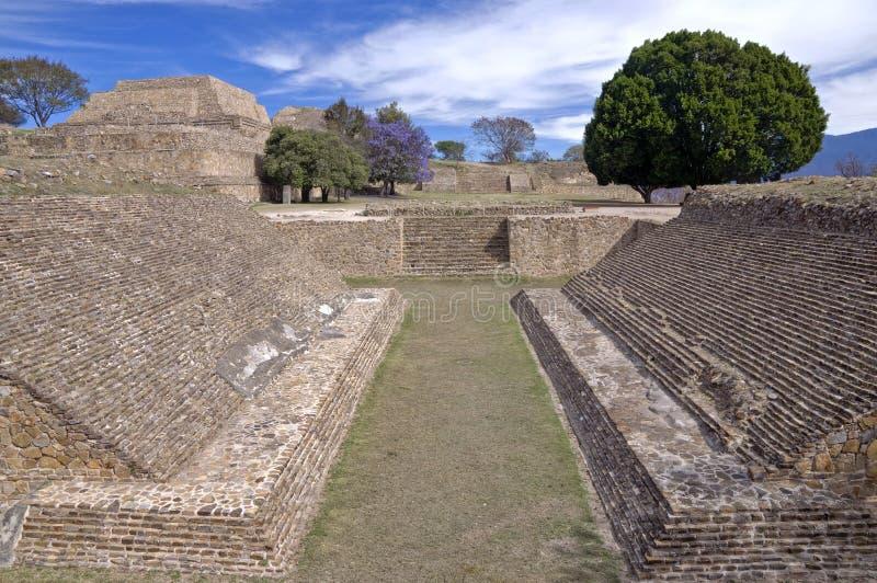 Monte Alban, México imagem de stock royalty free