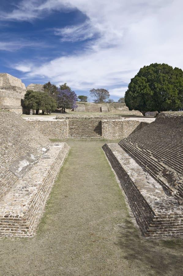 Monte Alban, México fotografia de stock