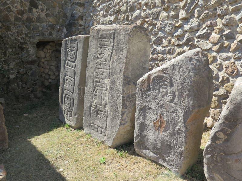 Monte Alban, México imagens de stock