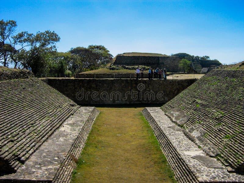 Monte Alban, Mexiko lizenzfreies stockfoto