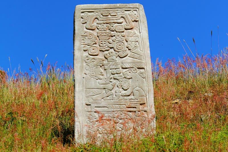 Monte Alban XVII fotografía de archivo libre de regalías