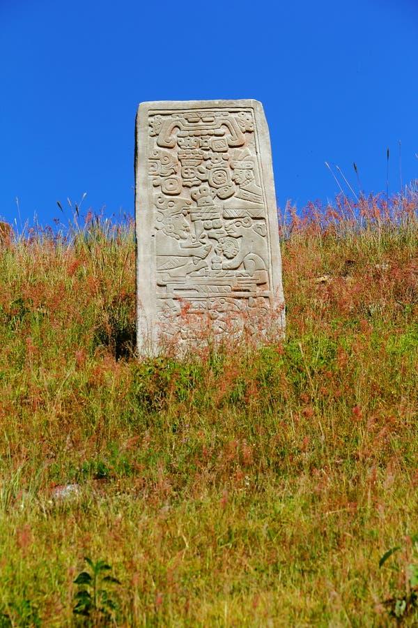 Monte Alban XVIII stockbilder