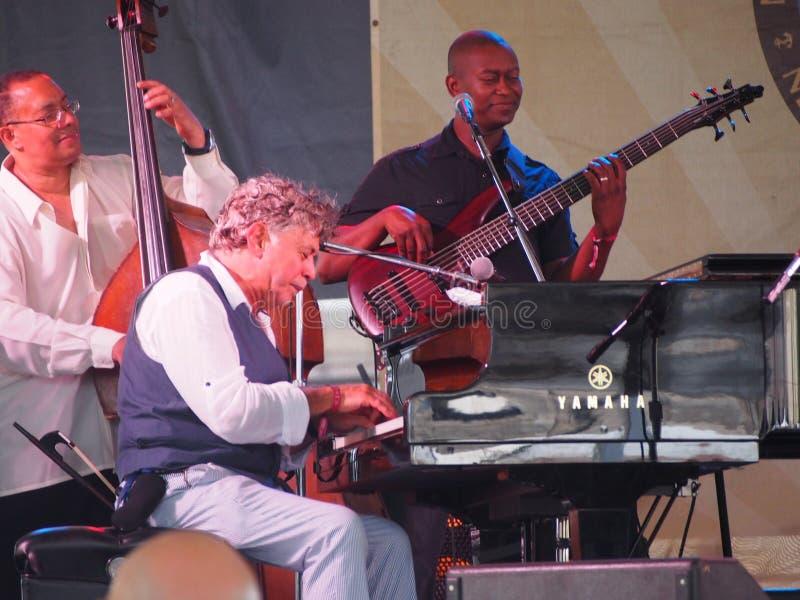Monte Alexander in Nieuwpoort Jazz Festival royalty-vrije stock fotografie