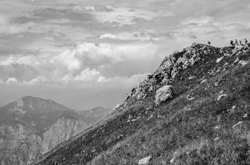 Monte Baldo obrazy royalty free