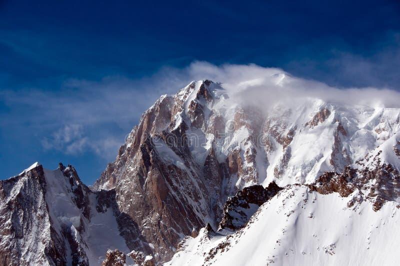 Monte Bianco image libre de droits